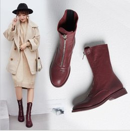 $enCountryForm.capitalKeyWord Australia - Martin's Shoes Women's New English and Korean Version of Baitie Single Boots