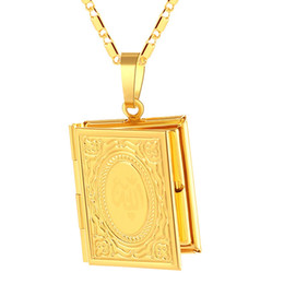 $enCountryForm.capitalKeyWord Australia - New Fashion Picture Frame Style Boy Or Girl Muslim Pendant Necklace For Religious Jewelry Gifts