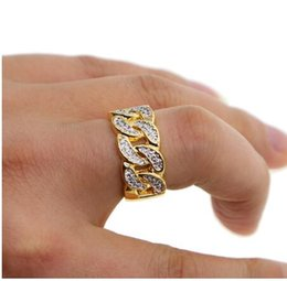 $enCountryForm.capitalKeyWord Canada - Top quality 2019 cuban link chain cz big man ring in gold color plated hip hop ice out bling bling cz punk men rings factory