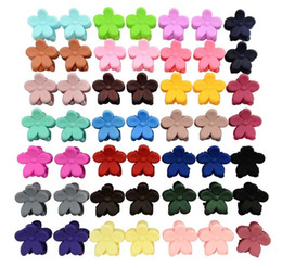 Small Hair Flower Clips Australia - 0.5 Inch Small cute Flowers Gripper Boutique Hair Bows Clip Hairpins For baby Girl Hair Accessories 663