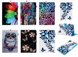 $enCountryForm.capitalKeyWord Australia - For Samsung Galaxy Tab A 10.1 2019 T510 T515 Tablet P200 S5e T720 T725 Cartoon Wallet Leather Case Owl Flower Dreamcatcher Stand Skin Cover