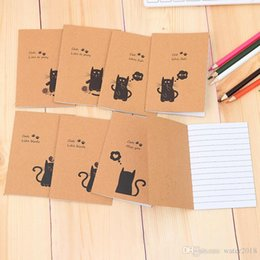 $enCountryForm.capitalKeyWord Australia - Cowhide Notebook Paper Blank Notepad Book Vintage Kraft Paper Easy To Carry Small Notebook Graffiti Sketch Creative Simple Stationery 233