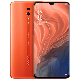 "oppo full phone Canada - Original OPPO Reno Z 4G LTE Cell Phone 6GB RAM 256GB ROM Helio P90 Octa Core Android 6.4"" Full Screen 48MP Face ID Fingerprint Mobile Phone"