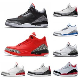 Wholesale New designer s basketball shoes International Flight Black Cement Fire Red Free Throw Line Grateful sports sneaker size