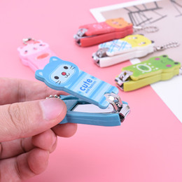 $enCountryForm.capitalKeyWord Australia - Childrens Innovative Stainless Steel Nail Clippers Cartoon Baby Kids Maternity Creative And Lovely Nail Clippers Female Household Manicure