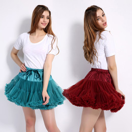Baby Pettiskirts Tutus Australia - Fashion Fluffy Chiffon Teenage Girl Adualt Women Pettiskirts tutu Baby Girls Skirts Princess skirt dance wear Party clothes