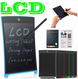Writing Tablets Australia - LCD Writing Tablet Digital Digital Portable 8.5 Inch Drawing Tablet Handwriting Pads Electronic Tablet Board for Adults Kids Children