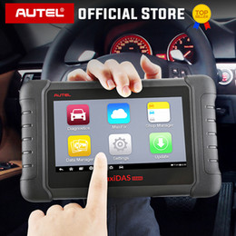 honda obd tool UK - Autel MAXIDAS DS808 Diagnostic Tool OBDII OBD 2 Car Auto Diagnostic Scanner Tool TPMS Programming Key Programmer Maxisys MS906