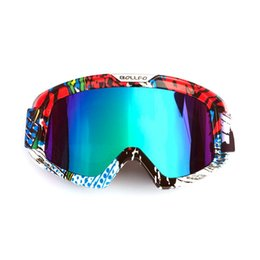 girls ski goggles UK - Motocross Motorcycle Goggles Skiing Bike Dust Proof Racing Glasses Anti Wind Eyewear MX Goggles