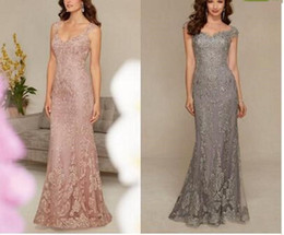 formal trumpet dresses for mother bride Australia - 2019 New Modest Lace Appliques Long Mermaid Mother of the Bride Dresses V Neck Formal Evening Party Gowns for Weddings Floor Length