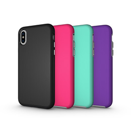 Heavy Duty Note Phone Case UK - Designer Phone Case For Iphone XS XR XS MAX Case Anti-skid Armor Case Hard Heavy Duty Back Cover For Iphone 7 8 Plus