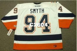 da2154ad370 Men #94 RYAN SMYTH New York Islanders 2006 CCM RETRO Home Away Home Hockey  Jersey or custom any name or number retro Jersey
