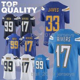 Charger jerseys 17 Philip Rivers Derwin 33 James Keenan 13 Allen Joey 99  Bosa football jerseys 2b93a84e8