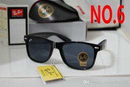 Hot pilot glasses online shopping - 54mm Hot Sale Aviator Ray Sunglasses Vintage Pilot Brand Sun Glasses Band Polarized UV400 Bans Men Women Ben wayfarer sunglasses