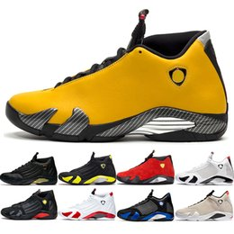 $enCountryForm.capitalKeyWord Australia - Hot 14 Candy Cane 14s Men Basketball Shoes The Last Shot Black Whit Red Yellow Mens Trainer Athletic Sport Sneaker Online Sale