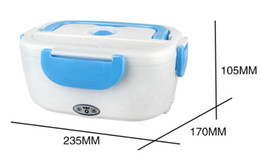r c electric Australia - good quality Lunch Box Multi Functional Portable Electric Heating Lunchbox Heat Preservation Bento With Spoon Multi Color 39fs C R