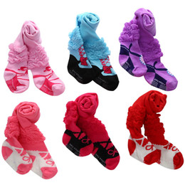 Baby Girl Wearing Tights UK - New Dress Socks baby Pantyhose cotton Baby Leggings Infant Tights Toddler PP pants newborn baby girl designer clothes Infant Wear A3089