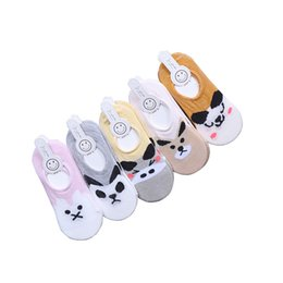 cute cartoon pairs Australia - Cartoon Three-dimensional Pattern Boat Socks Cute Sweet Baby Thin Socks Aged 3-12, 10 Pairs batch Free Delivery