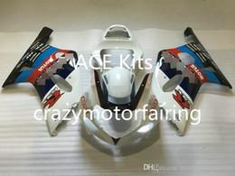 K1 Blue Australia - 3 gifts New SUZUKI GSXR600 750 K1 01 02 03 GSXR 600 GSXR 750 2001 2002 2003 ABS Injection mold White Blue 8H