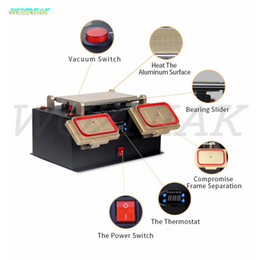 lcd separator machine samsung Australia - Wozniak Heating platform machine Bezel Middle Frame Liquid crystal separator Machine Remove frame for Samsung LCD Refurbish