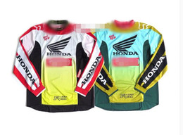 Honda long online shopping - Spot HONDA joint downhill clothing off road long sleeved T shirt motorcycle clothing DH mountain bike clothing shirt