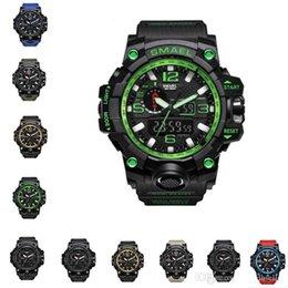 $enCountryForm.capitalKeyWord Australia - SMAEL Brand Men Sports Watches Dual Display Analog Digital LED Electronic Quartz Wristwatches Waterproof Swimming tactical Watch
