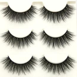 $enCountryForm.capitalKeyWord Australia - D-12 Art Makeup Fake Eyelashes Cross Natural Eye Lashes Handmade Cotton Stalk 3d Thick False Eyelashes
