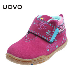 $enCountryForm.capitalKeyWord Australia - Uovo Soft Sole Little Cow Suede Children Autumn Toddler Girls Boys Cute Comfortable Shoes For Kids Y190525