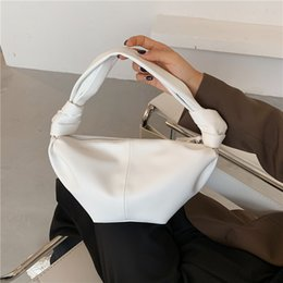 trendy hand bags Australia - Retro Hobo Bags For Women 2020 Soft Leather Handbag And Purse Female Trendy Hand Bag Women Shoulder Bag Vintage Clutches
