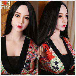lifelike full silicone love dolls UK - LOMMNY Top quality 152cm Silicone Sex Dolls with metal skeleton full size lifelike big breast vagina pussy Love dolls Adult Sexy Dolls