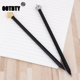 $enCountryForm.capitalKeyWord Australia - Crown Pencil Stationery Items Drawing Supplies Cute Pencils For School Office dropshipping