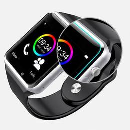Bluetooth Smart Watch Sim Australia - 2019 New 7 colour A1 WristWatch Bluetooth Smart Watch Sport Pedometer with SIM Camera Smartwatch For Android Smartphone VS DZ09