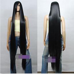 $enCountryForm.capitalKeyWord Australia - Synthetic fibre queen Black 1.5m Dynamic Styling Long Cosplay Wigs for women wig