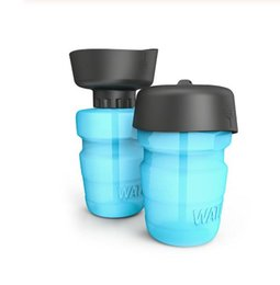 dog water feeder bottle Australia - Dog travel bottle drinking water bottle portable water bottle pet outdoor drinking water cup feeder