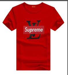 Discount womens longer shorts - 19SS NEW designer t shirts luxury box logo t-shirt fashion brand mens and womens Luxury L letters printed mens shorts fr