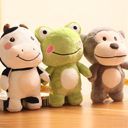 $enCountryForm.capitalKeyWord Australia - Cute little animal frog cow monkey stuffed toy doll small ugly cute doll boy and girl birthday gift 01