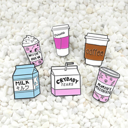 $enCountryForm.capitalKeyWord NZ - Cup Collection ! Mini Cartoon Icecream Float Coffee Mug Witch's Brew Milk Box Brooches Witch Lapel pins Wicca Witchcraft jewelry