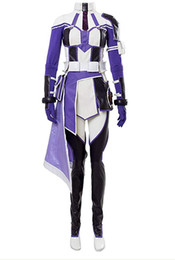 Sao coSplay online shopping - SAO Sword Art Online Fatal Bullet Zeliskam Cosplay Costume Halloween Dress Outfit