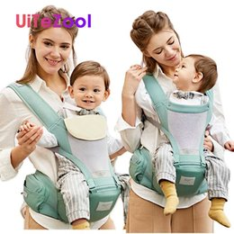 infant carrier sling Canada - Baby Carrier Infant Hipseat Sling For Newborn Front Facing Kangaroo Bag Baby Wrap Carrier for Travel 0-36 Months