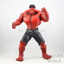 Red Hulk Figures Australia - hot ! NEW 1pcs 26cm Red Hulk action figure toy