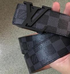 Design Patterns For Dresses Australia - 2019 Fashion brand logo design Classic lattice pattern printing belts for Men v Womens Man Jeans Dress strap L gift Male belt