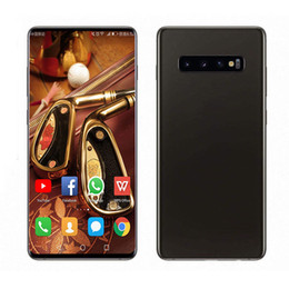 Discount new unlocked android phones - NEW Goophone S10 Plus S10+ 6.3inch Quad Core MTK6580 Android 9.0 1GB RAM 8GB ROM Unlocked 3G WCDMA Smart Phone