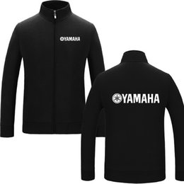 Chinese  Fashion for yamaha logo Cotton Zipper Autumn Hoodies Jacket Men Clothes Fashion Hooded Outdoor sports warm Hoodies jacket manufacturers