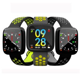 $enCountryForm.capitalKeyWord Australia - High quality F15 Smart Bracelet Watch Band fitness tracker Blood Pressure Heart Rate Monitor Thermometer Pedometer Wristband for Android IOS