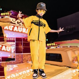 $enCountryForm.capitalKeyWord Australia - New Children Jazz Dance Costumes For Boys Hip Hop Performance Dancing Clothes Chinese Tang Suit Stage Costumes Wear DQS2139