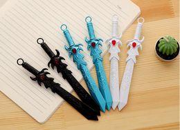 $enCountryForm.capitalKeyWord Australia - 2019 Hot selling Originality Lovely Big sword Neutral pen 0.38mm black School Supplies Roller pen office School Office Supply