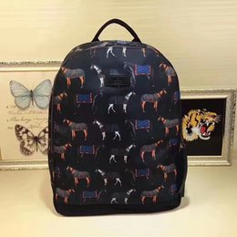horse handbag girls NZ - 2019 353476 new dark horse backpack Backpacks HANDBAGS Top Handles Boston Bag Totes Shoulder Bags Crossbody Bags Belt Luggage Lifestyle Bags