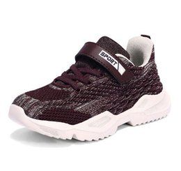 $enCountryForm.capitalKeyWord Australia - Children's Shoes Spring and Autumn Style 2019 New Fashion Children's Boys Flying Weave Breathable Mesh Daughter's Shoes WL859