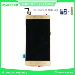 lenovo touch screen for repairing NZ - For Lenovo K6 Note LCD Display Screen Touch Screen Digitizer Assembly Repair Accessories Lcd 5.5 Inch