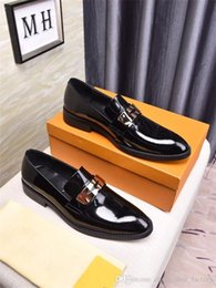 $enCountryForm.capitalKeyWord NZ - Metal matching boutique men casual beans beans shoes Loafers for lazy people Non - slip wear-resisting black driving shoes